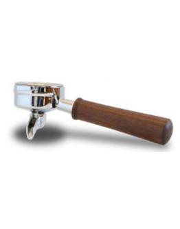 Ascaso  Walnut Wood filterholder 1 coffee