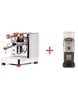 Lelit Bianca TOP-Level Espresso Machine + Lelit William - PL72 Grinder