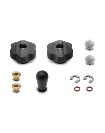 Lelit PLA2202 black walnut wood upgrade kit for MaraX