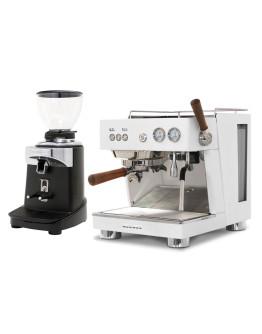 Set Ascaso BABY T PLUS Espresso Machine + Ceado E37J On-Demand Coffee Grinder