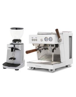 Set Ascaso BABY T PLUS Espresso Machine + Ceado E37S On-Demand Coffee Grinder