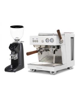 Set Ascaso BABY T PLUS Espresso Machine + Compak E5 OD Coffee Grinder