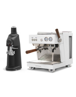 Set Ascaso BABY T PLUS Espresso Machine + Compak PK100 LAB Coffee Grinder