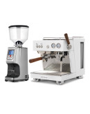 Set Ascaso BABY T PLUS Espresso Machine + Eureka Atom Specialty 65E On-demand grinder for domestic and professional purpose