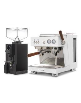 Set Ascaso BABY T PLUS Espresso Machine + Eureka Mignon Specialita Automatic Grinder for Domestic use