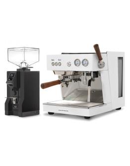 Set Ascaso BABY T ZERO Espresso Machine + Eureka Mignon Specialita Automatic Grinder for Domestic use
