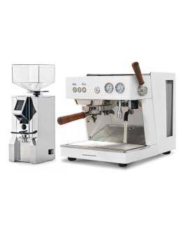 Set Ascaso BABY T ZERO Espresso Machine + Eureka ORO Mignon XL Domestic grinder