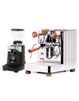 Set Lelit Bianca Top-Level Espresso Machine + Ceado E37J On-Demand Coffee Grinder