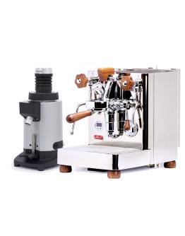 Set Lelit Bianca Top-Level Espresso Machine + Ceado E5SD Opalglide Single-Dose Coffee Grinder