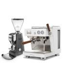 Set Ascaso BABY T PLUS Espresso Machine + Mazzer SUPER JOLLY V Pro Professional Grinder