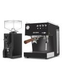 Set Ascaso Steel Duo PID Espresso Machine + Eureka Mignon Specialita Automatic Grinder for Domestic use