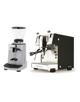 Set Dalla Corte STUDIO Espresso Machine + Ceado E37S On-Demand Coffee Grinder