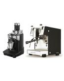 Set Dalla Corte STUDIO Espresso Machine + Ceado E37SD Opalglide Single-Dose Coffee Grinder