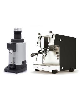 Set Dalla Corte STUDIO Espresso Machine + Ceado E5SD Opalglide Single-Dose Coffee Grinder