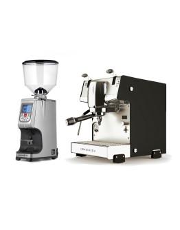 Set Dalla Corte STUDIO Espresso Machine + Eureka Atom Specialty 65E On-demand grinder for domestic and professional purpose