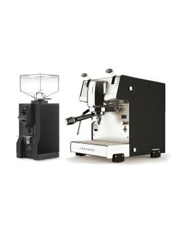 Set Dalla Corte STUDIO Espresso Machine + Eureka Mignon Specialita Automatic Grinder for Domestic use