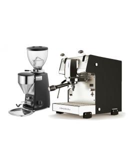 Set Dalla Corte STUDIO Espresso Machine + Mazzer MINI Electronic B Coffee Grinder