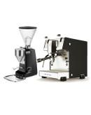 Set Dalla Corte STUDIO Espresso Machine + Mazzer Super Jolly Electronic Coffee Grinder
