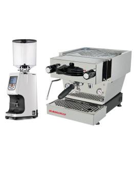 Set La Marzocco Linea Mini - Espresso Machine with Pro touch steam wand + Eureka Atom Specialty 75E On-demand grinder