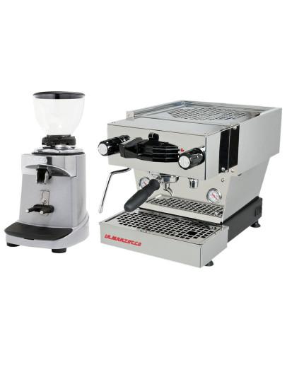 Set La Marzocco Linea Mini - Espresso Machine with Pro touch steam wand + Ceado E37S On-Demand Coffee Grinder