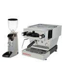 Set La Marzocco Linea Mini - Espresso Machine with Pro touch steam wand + Compak E8 OD Coffee Grinder
