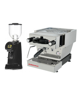 Set La Marzocco Linea Mini - Espresso Machine with Pro touch steam wand + Eureka HELIOS 65 on demand grinders