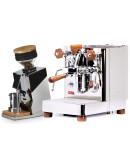 Set Lelit Bianca TOP-Level Espresso Machine + Eureka ORO Mignon Single Dose Grinder