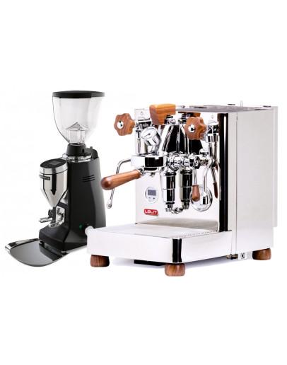 Set Lelit Bianca TOP-Level Espresso Machine + Mazzer Major V Electronic Coffee Grinder