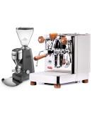 Set Lelit Bianca TOP-Level Espresso Machine + Mazzer SUPER JOLLY V Pro Professional Grinder