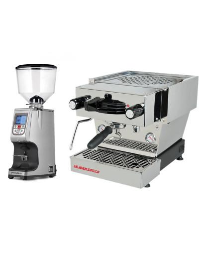 Set La Marzocco Linea Mini - Espresso Machine with Pro touch steam wand + Eureka Atom Specialty 65E On-demand grinder for domestic and professional purpose