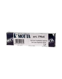 Motta Espresso Spoon - Set of 6