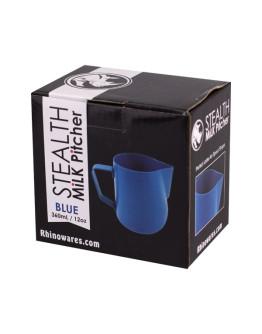 Rhinowares Barista Milk Pitcher - pitcher blue 360 ml
