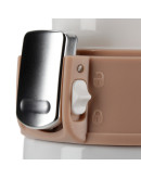 Asobu - Diva Cup White / Brown - 450ml Travel Mug
