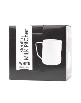 Rhinowares Barista Milk Pitcher - White 950 ml