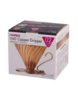 Hario V60-02 Metal dripper - gold