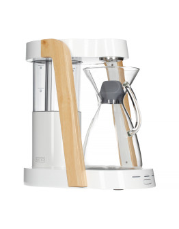 Ratio Eight Coffee Maker - White / Parawood