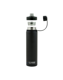 EcoVessel - Insulated Water Bottle Boulder - Mile High Green