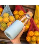Sol - Cool Cyan Bottle + Cleaning Brush + Bag