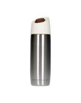 Asobu - 5th Avenue Coffee Tumbler Silver - 390ml Travel Mug