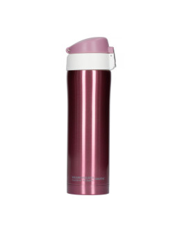 Asobu - Diva Cup Pink / White - 450ml Travel Mug