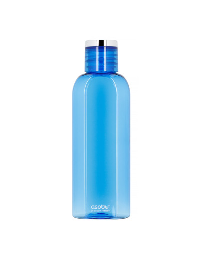 Asobu - Flip Side Water Bottle - Blue 700 ml