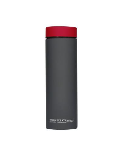 Asobu - Le Baton Grey / Red - 500ml Travel Bottle