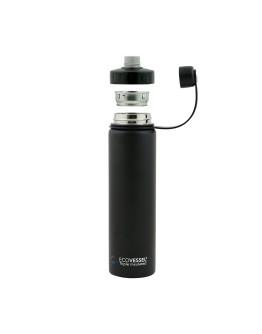 EcoVessel - Insulated Water Bottle Boulder - Purple Haze 700 ml