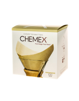 Chemex Square Paper Filters - Natural -  6, 8, 10 Cups
