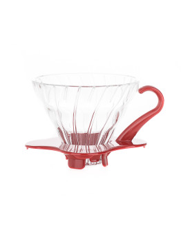Hario Glass Dripper V60-01 - Red