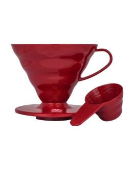 Hario V60-02 Plastic Dripper Red