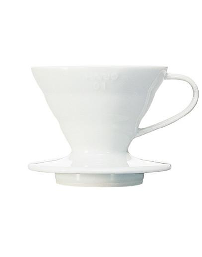 Hario V60 Ceramic Coffee Dripper White 01