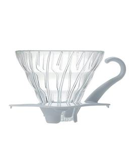 Hario V60 Glass Drip 01 - White