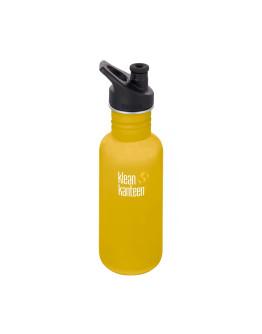 Klean Kanteen - Classic Sport Bottle - Lemon Curry 532ml