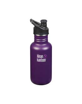 Klean Kanteen - Classic Sport Bottle - Winter Plum 532ml